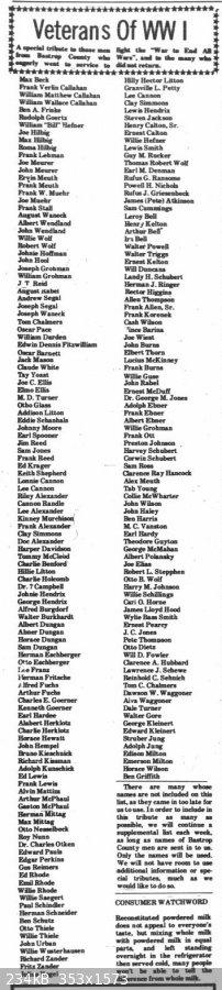 WWI Soldiers, 5 Aug 1976, Bastrop.jpg - 234kB
