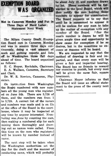 19170705 Rockdale Reporter, 5 Jul 1917, pg 2.jpg - 143kB