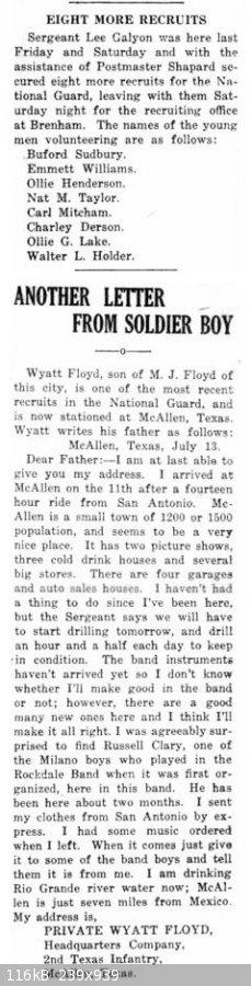 19170719 Rockdale Reporter, 19 Jul 1917, pg 1.jpg - 116kB