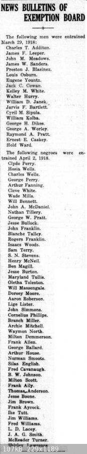 19180404 Rockdale Reporter, 4 Apr 1918, pg 2.jpg - 107kB