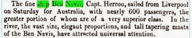 Ben Nevis, Leicester Chronicle, 2 Oct 1852.JPG - 17kB